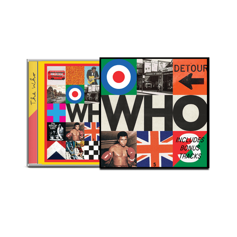 Who (Deluxe CD) von The Who - Deluxe CD jetzt im uDiscover Shop