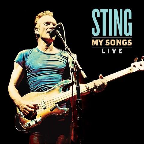 My Songs Live von Sting - LP jetzt im uDiscover Shop
