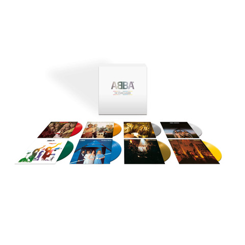 √The Studio Albums (8LP Coloured Vinyl Box) von ABBA - Box set jetzt im uDiscover Shop