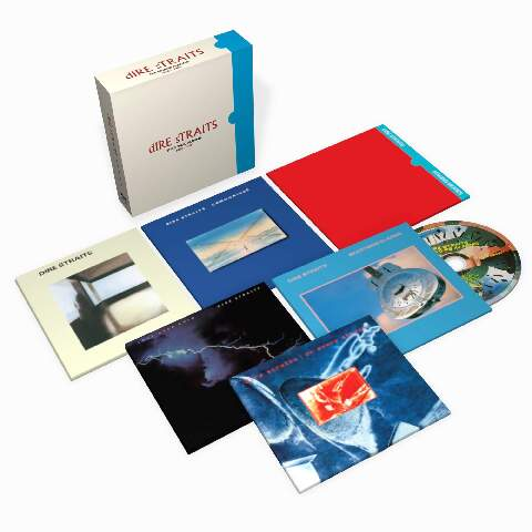 √The Studio Albums 1978-1991 (Ltd. 6CD Boxset) von Dire Straits - Box set jetzt im uDiscover Shop