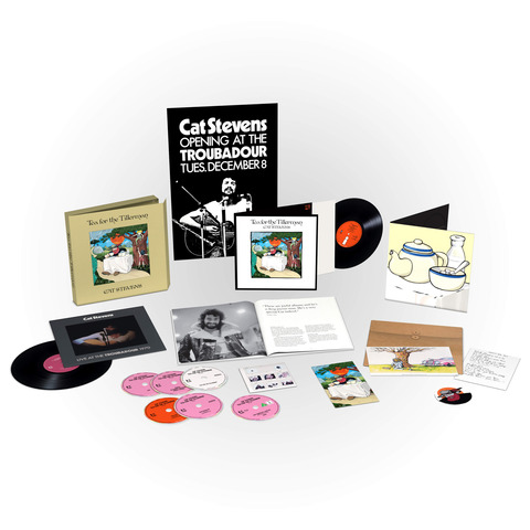 Tea For The Tillerman (Super Deluxe Boxset) von Yusuf / Cat Stevens - Boxset jetzt im uDiscover Shop