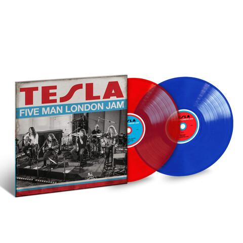 Five Man London Jam (Ltd. Coloured LP) von Tesla - 2LP jetzt im uDiscover Shop
