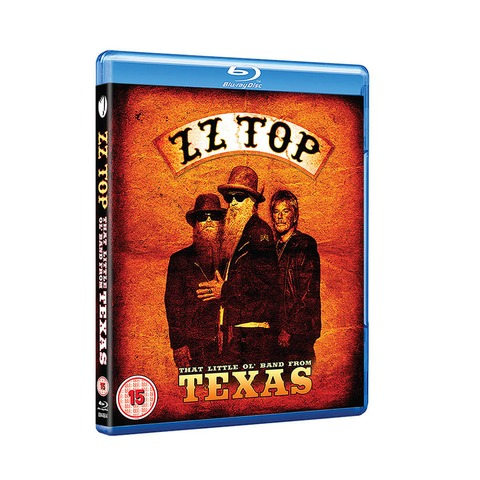 √The Little Ol' Band From Texas (Ltd. Edition BluRay) von ZZ Top - BluRay jetzt im uDiscover Shop