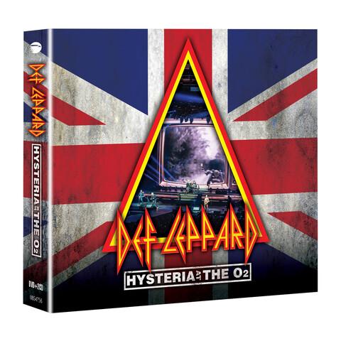 √Hysteria At The O2 (DVD + 2CD) von Def Leppard - DVD jetzt im uDiscover Shop