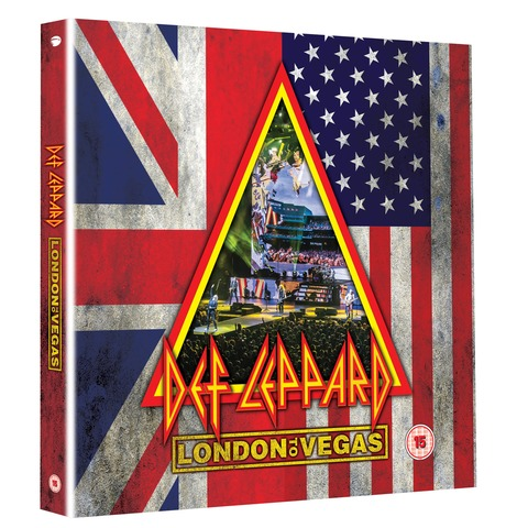 √London To Vegas (Deluxe Box 2BluRay+4CD - Limited Edition) von Def Leppard - Box set jetzt im uDiscover Shop