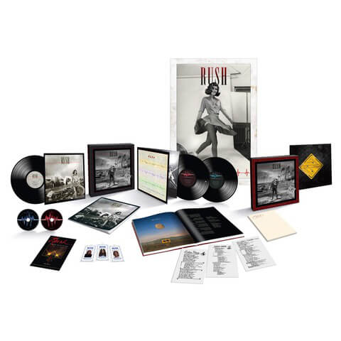 √Permanent Waves 40th Anniversary (Ltd. Super Deluxe Edition) von Rush - Box set jetzt im uDiscover Shop
