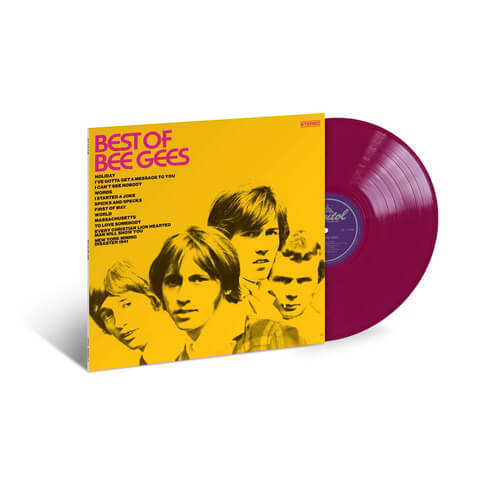 √Best of Bee Gees (Ltd. Colour LP) von Bee Gees - LP jetzt im uDiscover Shop