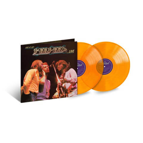 Here At Last... Bee Gees Live (Ltd. Colour Vinyl) von Bee Gees - 2LP jetzt im uDiscover Shop