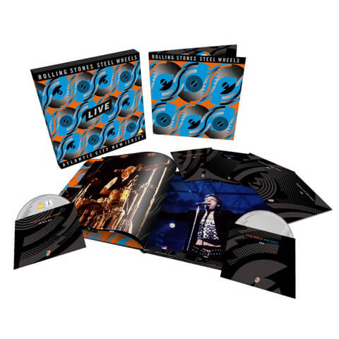 Steel Wheels Live (Limited Edition 6-disc Collector's Set) von The Rolling Stones - Boxset jetzt im uDiscover Shop
