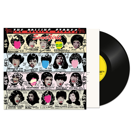 √Some Girls (Half Speed Master LP Re-Issue) von The Rolling Stones - LP jetzt im uDiscover Shop