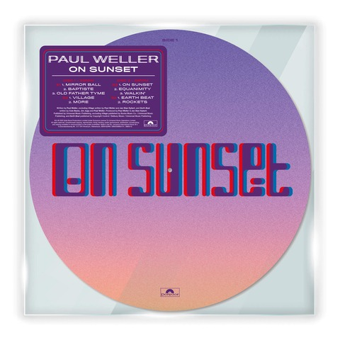 √On Sunset (Ltd. Picture Disc) von Paul Weller - LP jetzt im uDiscover Shop