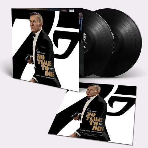 Bond 007: No Time To Die (2LP) by Hans Zimmer - 2LP - shop now at uDiscover store