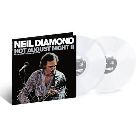 Hot August Night II (ltd. Coloured 2LP) von Neil Diamond - 2LP jetzt im uDiscover Shop