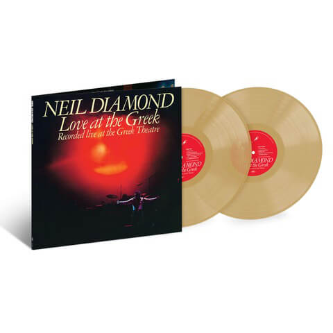 Love At The Greek (Ltd. Coloured 2LP) von Neil Diamond - 2LP jetzt im uDiscover Shop