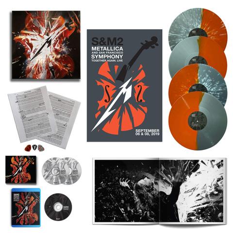S&M2 (Ltd. Deluxe Box - 4LPs, BluRay & more) von Metallica - Box jetzt im uDiscover Shop