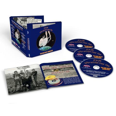√H To He Who Am The Only One (2CD+DVD Remastered) von Van Der Graaf Generator -  jetzt im uDiscover Shop