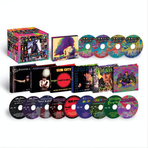 √Rock N Roll Rebel - The Early Work - Career Boxset (Ltd. Edition 10CD/3DVD) von Little Steven & The Disciples Of Soul - Box set jetzt im uDiscover Shop