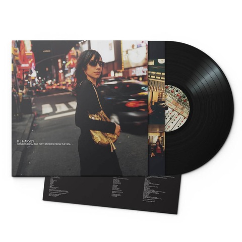 Stories From The City, Stories From The Sea (180g Black Vinyl) von PJ Harvey - LP jetzt im uDiscover Shop