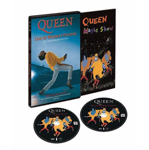 √Live At Wembley (25th Anniversary) von Queen - DVD jetzt im uDiscover Shop