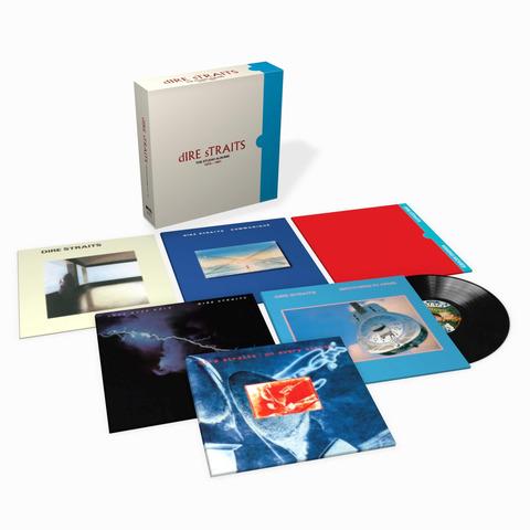 √The Studio Albums 1978 - 1991(Ltd. 8LP Boxset) von Dire Straits - Box set jetzt im uDiscover Shop