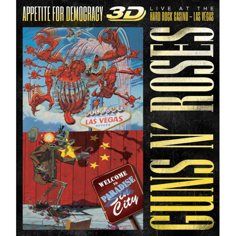 √Appetite For Democracy: Live (Ltd. BR+2CD Boxset) von Guns N' Roses - Box set jetzt im uDiscover Shop