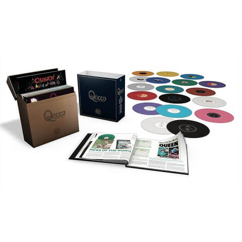 √Complete Studio Album LP Col.(LTD Coloured LP-Box) von Queen - LP jetzt im uDiscover Shop
