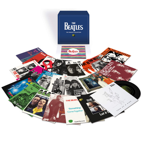 √The Singles Collection (Ltd. 7'' Vinyl Boxset) von The Beatles - Box set jetzt im uDiscover Shop