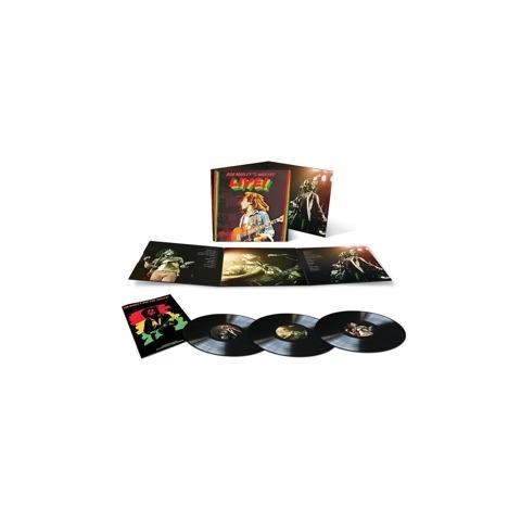 Live (Ltd Deluxe 3LP) von Bob Marley & The Wailers - 3LP jetzt im uDiscover Shop