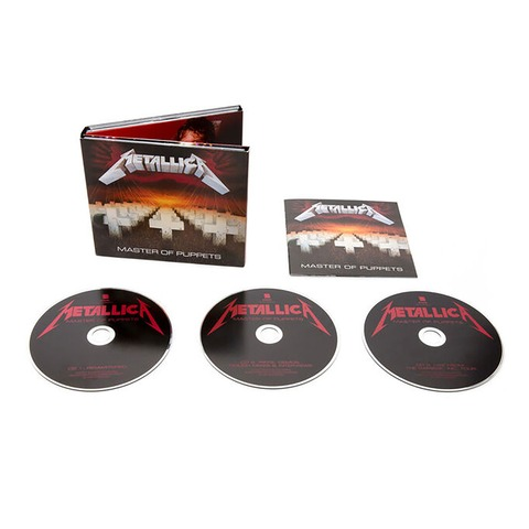 Master Of Puppets (Remastered Expanded Edition) von Metallica - 3CD jetzt im uDiscover Shop