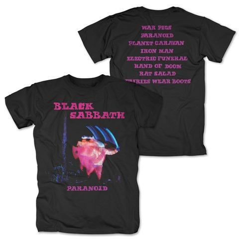 Paranoid Tracklist von Black Sabbath - T-Shirt jetzt im uDiscover Shop