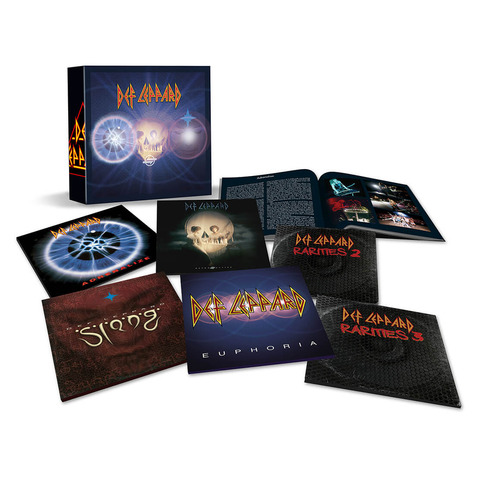 √The Vinyl Box Set: Volume Two (Limited Edition) von Def Leppard - LP Box jetzt im uDiscover Shop