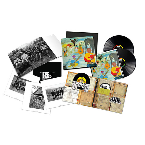 √Music From Big Pink 50th Aniversary (Ltd. Edition Box Set) von The Band -  jetzt im uDiscover Shop