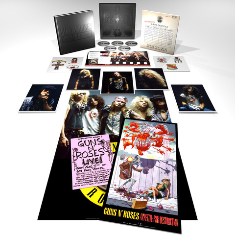 √Appetite For Destruction - Super Deluxe Edition von Guns N' Roses - CD jetzt im uDiscover Shop