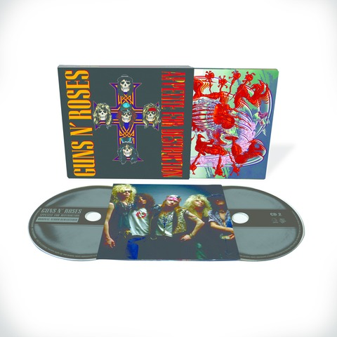 √Appetite For Destruction - 2CD Deluxe Edition (Ltd. Edition) von Guns N' Roses - CD jetzt im uDiscover Shop