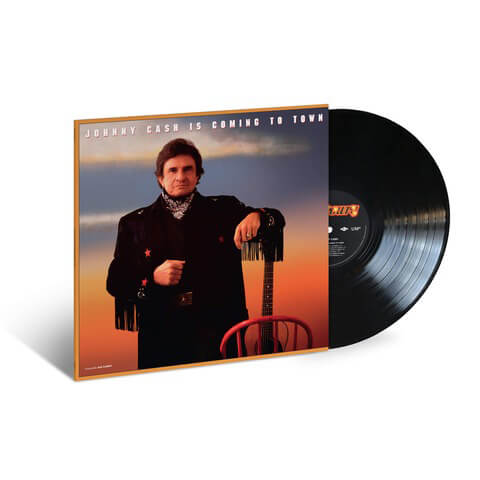 √Johnny Cash Is Coming To Town (1987) LP Re-Issue von Johnny Cash - LP jetzt im uDiscover Shop