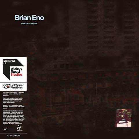 √Discreet Music von Brian Eno - lp jetzt im uDiscover Shop