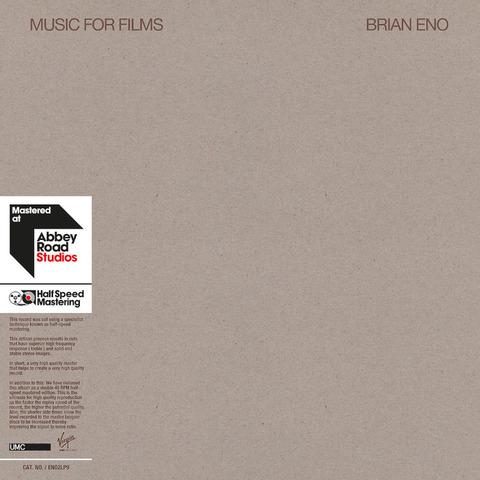 √Music For Films von Brian Eno - lp jetzt im uDiscover Shop