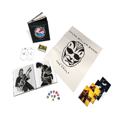 Welcome To The Vault (3CD/DVD Box Set) von Steve Miller Band - Boxset jetzt im uDiscover Shop
