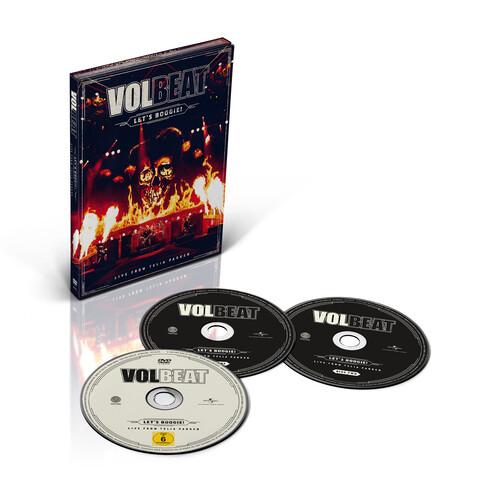 √Let's Boogie! Live from Telia Parken (2CD + DVD) von Volbeat - CD jetzt im uDiscover Shop