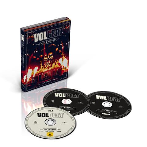 √Let's Boogie! Live from Telia Parken (2CD + BD) von Volbeat - CD jetzt im uDiscover Shop