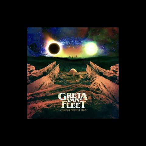 √Anthem of the Peaceful Army von Greta Van Fleet - LP jetzt im uDiscover Shop