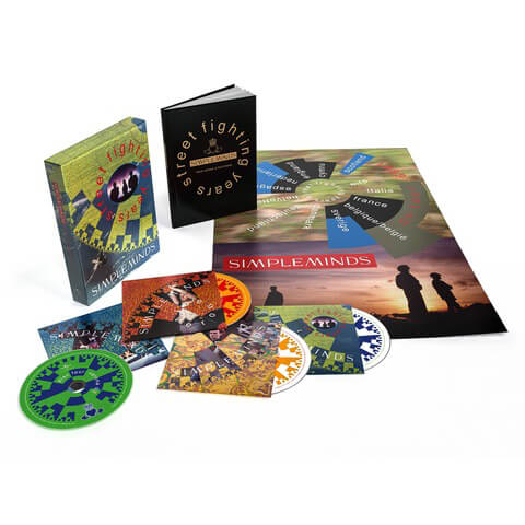 √Street Fighting Years (Ltd. 4 CD Boxset) von Simple Minds - Box set jetzt im uDiscover Shop