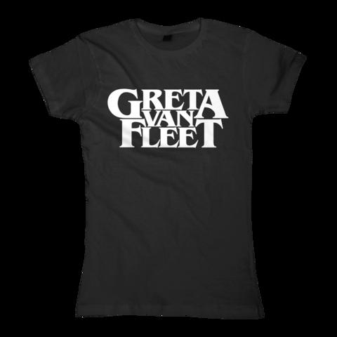 Logo by Greta Van Fleet - Girlie Shirt - shop now at uDiscover store