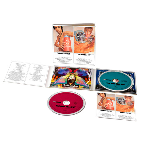 √The Who Sell Out (2CD Digipack) von The Who - 2CD jetzt im uDiscover Shop