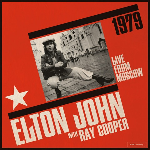 Live From Moscow (with Ray Cooper) von Elton John - 2LP jetzt im uDiscover Shop