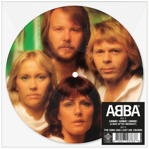 """Gimme! Gimme! Gimme! (Limited 7"""" Picture Disc) by ABBA -  - shop now at uDiscover store"""