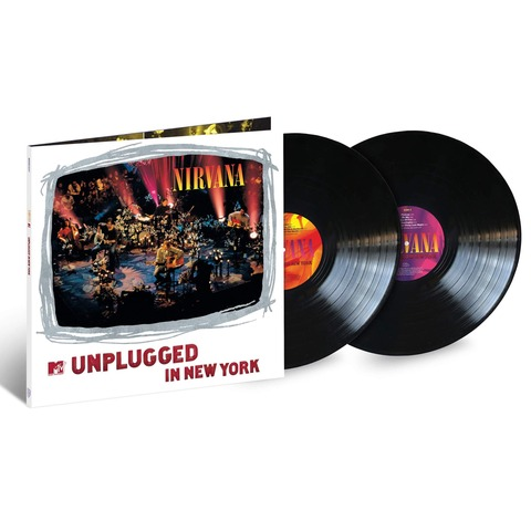 MTV Unplugged Live in New York - 25th Anniversary Edition von Nirvana - 2LP jetzt im uDiscover Shop