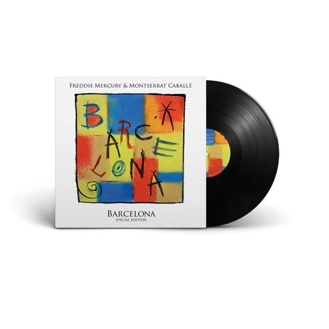 Barcelona von Freddie Mercury - LP jetzt im uDiscover Shop