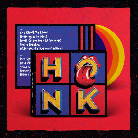√Honk (Excl. Coloured 4LP) von The Rolling Stones - LP jetzt im uDiscover Shop