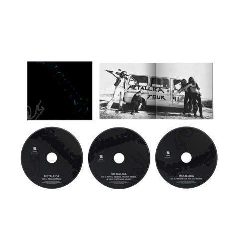 Metallica (The Black Album) Remastered - 3CD by Metallica - 3CD - shop now at uDiscover store